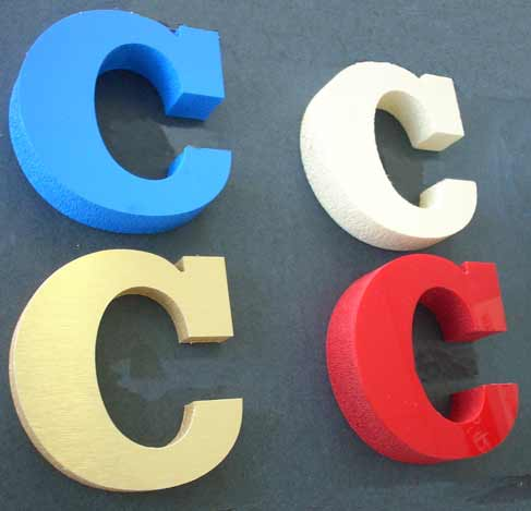 foam 3 d collage dimensional foam lettering