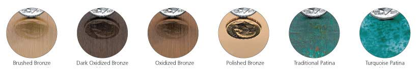 cast-metal bronze-finishes