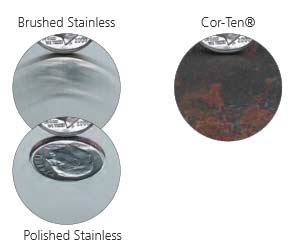 flat-cut steel-finishes