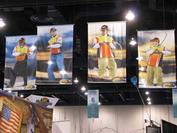 over-sized digital hanging banners