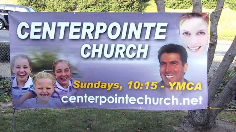 church digital banner