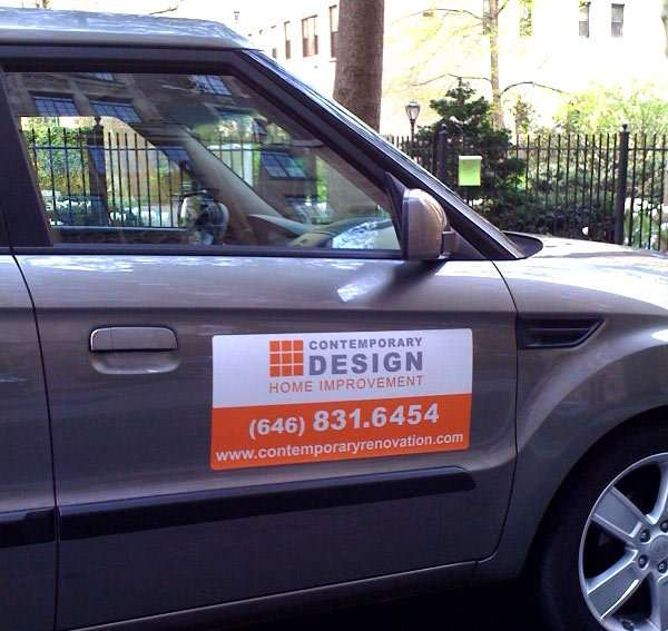 Magnetic Signs - Custom car door magnet