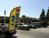 Carwash Flag banner