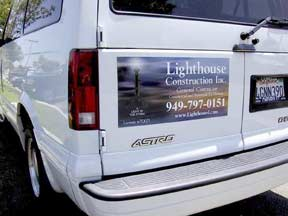 Van Magnetic Signs For Your Vehicle